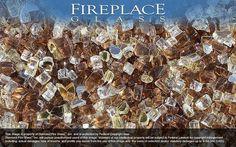 Montecito Premixed Fireplace Glass