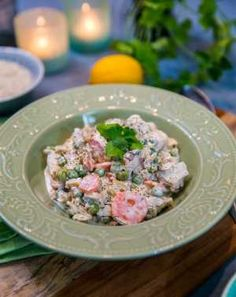 Fiskgryta med ärtor och dill Pasta, Stew, Potato Salad, Ethnic Recipes, Food, Pastries, One Pot, Essen, Noodles