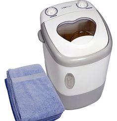 Mini lavadora MWA 3101 capacidad Kg Small Space Living, Tiny Living, Rv Living, Small Spaces, Gadgets And Gizmos, Cool Gadgets, Small Washing Machine, Washing Machines, Cool Inventions