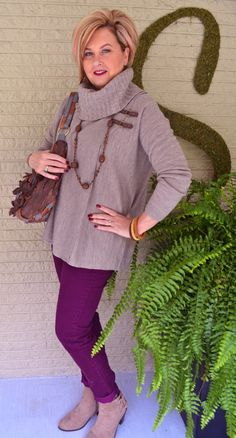 This poncho series will feature 5 different styled ponchos. Cozy, comfortable, and affordable fashions are on 50isnotold.com.