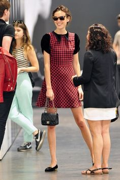 Alexa Chung and Chanel Mini Flap Bag