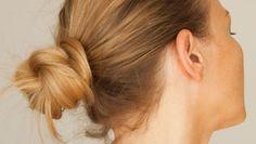 Step-by-Step Updo for Medium-Length Hair: Runway Bun-Shape Magazine