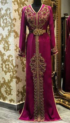 moroccan kaftan wedding dress Luxury Evening Dresses Long Red Carpet Gown Moroccan Kaftan by TheKaftanStore on Etsy Green Wedding Dresses, Asian Bridal Dresses, Indian Gowns Dresses, Evening Dresses, Arab Fashion, Ethnic Fashion, Caftan Dress, I Dress, Dress Luxury