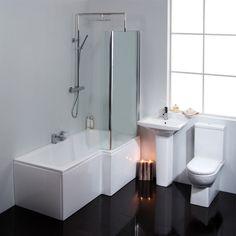 Navassa Emberton Showerbath Suite From Homebase Bathroom Suites Bathroom