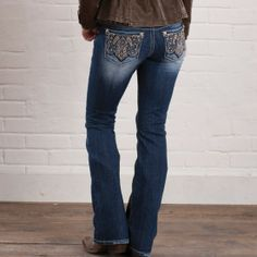 Paisley Perfection Jeans By Miss Me