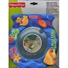 Espelho Para Bebe Para Carro Fisher Price - R$ 107,00