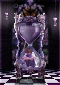 Inside the Hourglass by SweetLittleVampire.deviantart.com on @DeviantArt