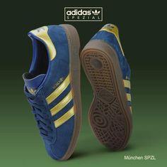 new product 7c80a a28fc Blue adidas Adidas Samba, Blue Adidas, Adidas Spezial, Adidas Sneakers,  Shoes Sneakers