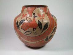Native American Zia Pueblo Pottery 249. Description: Native American, Zia pueblo…