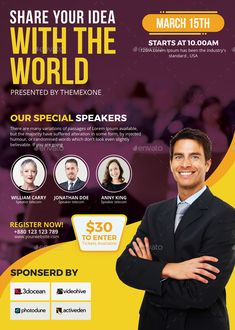 Conference Flyer   #business, #conference, #convention, #corporate, #elegant, #failure, #flyer, #information, #invitation, #leadership, #leaflet, #lecture, #lecture hall, #meeting, #participant, #pastors appreciation, #pathway, #photoshop, #popular, #poster, #seminar, #series, #speaker, #speech, #summit, #talk, #template, #trending, #workshop Graphic Design Flyer, Church Graphic Design, Corporate Brochure Design, Creative Poster Design, Creative Posters, School Brochure, Business Poster, Flyer Design Inspiration, Flyer Layout