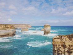 #greatoceanroad #australia #steine #felsen #meer #lochardgorge by fabsinis