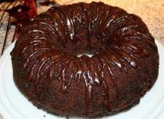 Receita de Bolo Gelado de Chocolate   Doces Regionais