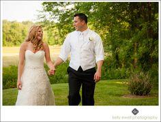 Outdoor summer purple and orange farm wedding at Riverside on the Potomac in Leesburg, Virginia