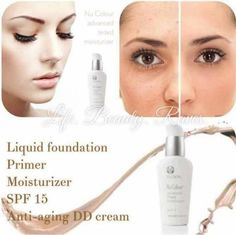 My favorite foundation in the world Ageless Beauty, My Beauty, Beauty Secrets, Beauty Skin, Hair Beauty, Nu Skin, Tinted Moisturiser, Moisturizer, Foundation Primer