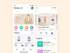 Medical APP designed by Strive for BestDream. Connect with them on Dribbble; Web Design, App Icon Design, App Design Inspiration, Website Design Layout, Daily Inspiration, Magazine Ideas, Ui Design Mobile, Graphic Design Brochure, Photoshop