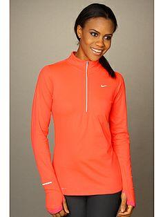 Running: Nike Half Zip orange✔️