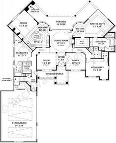 Lady La Salette - First Floor Plan