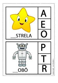 Educação infantil facil: JOGO DA LETRA INICIAL Professor, Worksheets, Homeschool, Spanish, Preschool Literacy Activities, Infant Activities, Rhyming Games, Initials, Note Cards