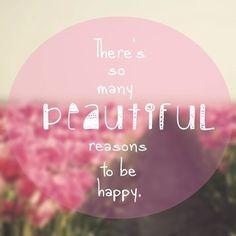 Happy. Inspirational quotes.
