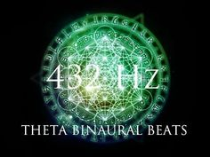 DEEP Theta Binaural Beats ➤ LET GO of Fear, Overthinking & Worries ➤ 432Hz Deep Relaxation - YouTube