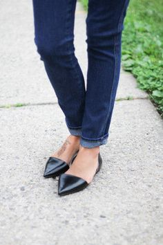 Zara pointed flats. I love pointed flats, they can make any outfit look instantly chic.