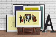A personal favourite from my Etsy shop (null) Flat Screen, My Etsy Shop, Portraits, Frame, Artwork, Quotes, Home Decor, Blood Plasma, Picture Frame