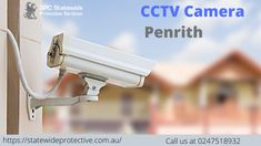 A CCTV (closed-circuit television) system allows the use of videos cameras to monitor the interior and exterior of a property, transmitting the signal to a monitor or set of monitors.