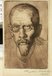 Kansallisgalleria - Taidekokoelmat - Gallen-Kallela, Akseli Finland, Portrait, Artists, Museum, Headshot Photography, Portrait Paintings, Drawings, Portraits, Artist