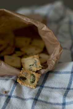 Paciocchi di Francy: Crackers ai semi