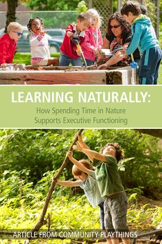 In this article, author Michelle Rupiper explains how unstuctured outdoor activity in natural settings helps develop executive functioning for young children. Read the full article here.