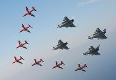 Reds and eurofighter