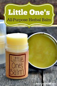 How to Make an All-Purpose Herbal Balm/Salve for Kids