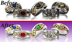 Commercial Product Retouching USA |Retouch Wedding Photo UK |High-End Jewellery Retouch