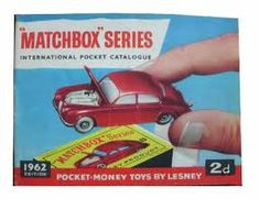 Matchboxkes...my brother had a huge collection!