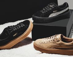 49e939f150d0 Rihanna x PUMA Suede Creeper is Still Available