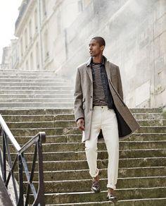 Clément Chabernaud + Claudio Monteiro Model Smart Fashions for J.Crews September 2015 Style Guide