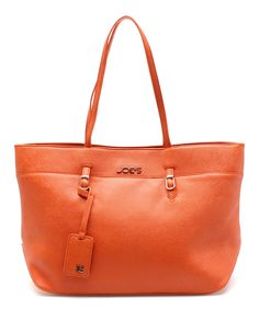 designer for discount coach bags outlet store by25  This Orange Bold Basics Tote by Joe's Jeans is perfect! #zulilyfinds