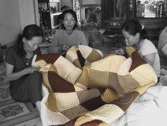 #quilt #handmade #Vietnam #teamwork #socialbusiness #development Social Business, Teamwork, Cambodia, Vietnam, Quilts, Couple Photos, Pictures, Handmade, Women
