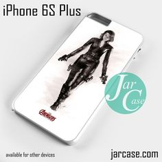 Black Widow & The Avenger Phone case for iPhone 6S Plus and other iPhone devices