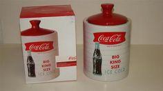 "Gibson Coca Cola Coke Cookie Jar ""Big King Size"" 9 1 2"" Tall | eBay"