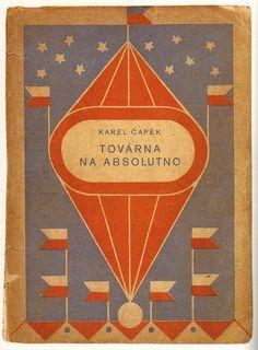 karenh:  vintage book cover designs by Josef Čapek (first discovered via A Journey Round My Skull)