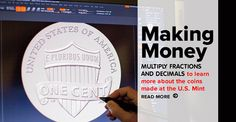 Designs for the @usmint 2016 National Parks commemorative coin collection were just announced! Read #DynaMath's behind-the-scenes take and challenge students on their decimal #multiplication skills! #math #lessonplannning