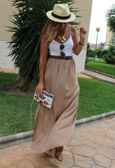 Maxi skirt- if only I could get away with this!