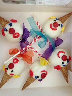 Clown Cakepops By Plano Cakepops
