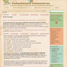 http://www.complements-alimentaires.co/grand-boucage/  Le grand boucage est une plante médicinale répertoriée depuis le seizième siècle pour ses vertus thérapeutiques, bien qu'à cette lointaine époque, on lui avait donné des propriétés non fondées...