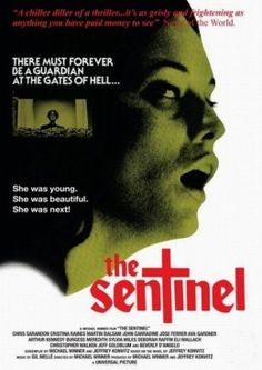 The Sentinel (1977)-The plot focuses on a young model who moves into a historic Brooklyn brownstone that has been sectioned into apartments, only to find that its proprietors are excommunicated Catholic priests, and the building is a gateway to hell.