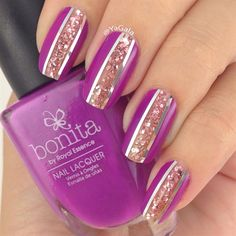 Easy Nail Design.  by Yagala from Nail Art Gallery