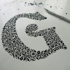 G papercut | Copyright Suzy Taylor 2013