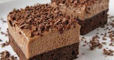 Na nedělní rodinnou návštěvu jsem připravila luxusní nutellovo - kávové řezy, které sklidily velký úspěch :) Troufám si tvrdit, že to js... Homemade Cakes, Nutella, Banana Bread, Food And Drink, Chocolate Cakes, Desserts, Baking, Tailgate Desserts, Deserts