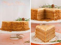 """Торт """"Медовик"""" вегетарианский рецепт без яиц. Wedyjska Kuchnia - вегетарианское блаженство вкусов."""